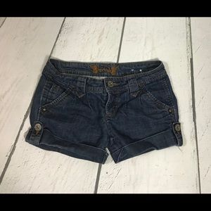FreeStyle Jean Shorts Juniors Size 1